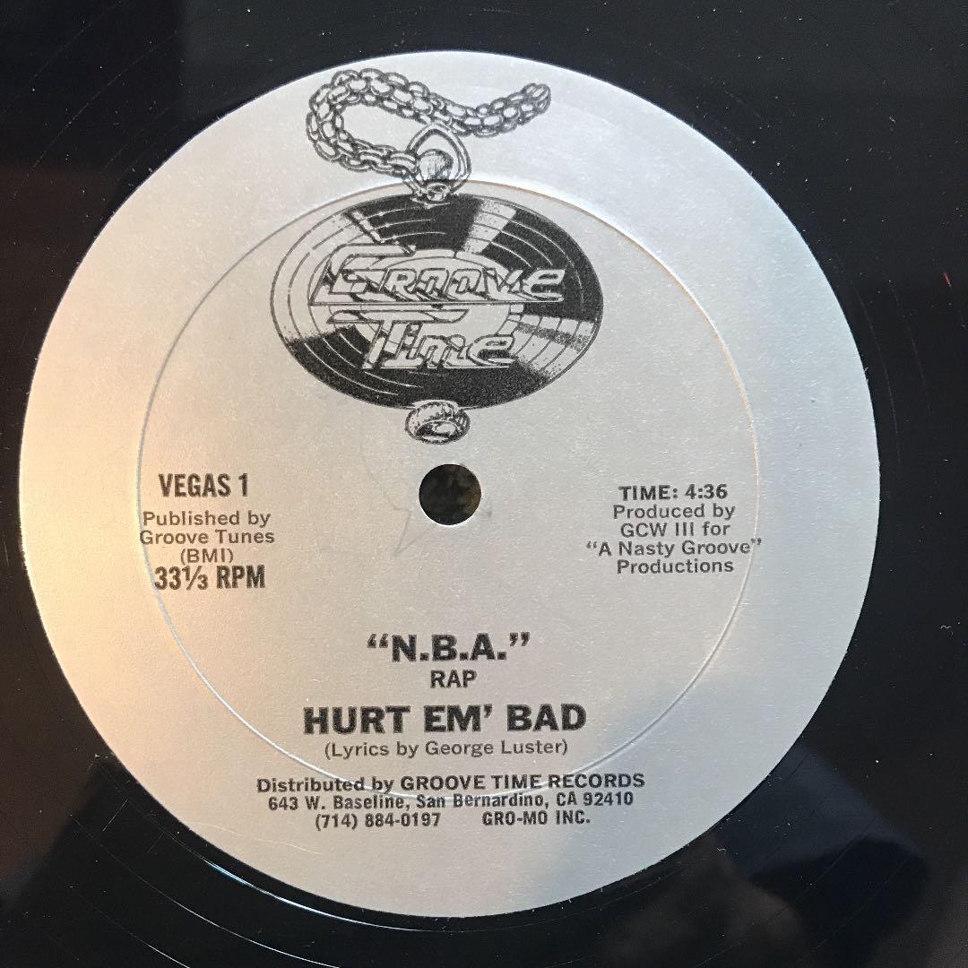 02. Hurt 'Em Bad — «NBA Rap» (1982)