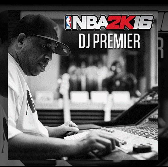 В саундтреке к новой игре NBA2K16, мы услышим треки от DJ Premier, DJ Mustard, DJ Khaled