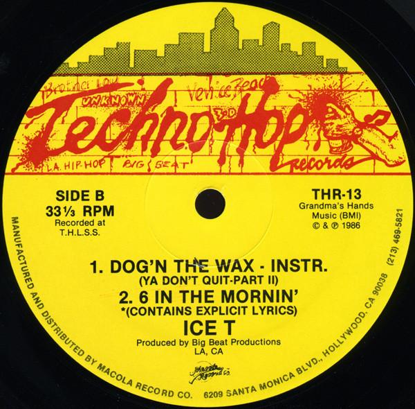 15. Ice-T — «6 In The Mornin'» (1986)