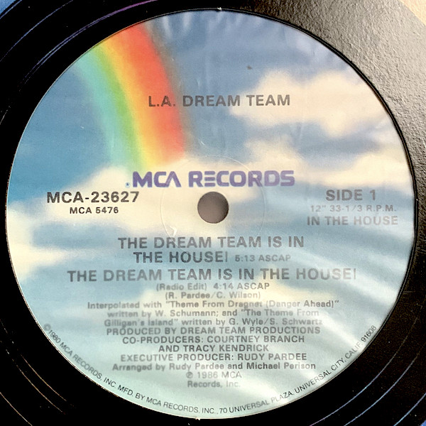 10. L.A. Dream Team — «The Dream Team Is In The House!» (1985)