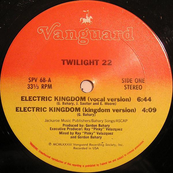 05. Twilight 22 — «Electric Kingdom» (1983)