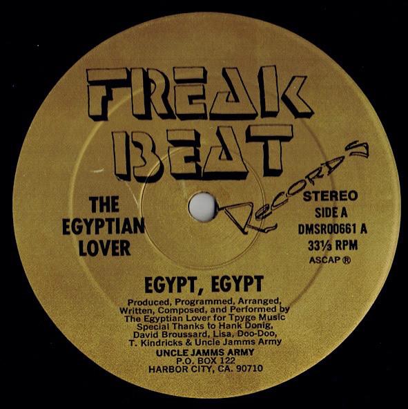 09. The Egyptian Lover — «Egypt, Egypt» (1984)