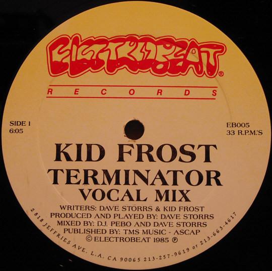 11. Kid Frost — «Terminator» (1985)