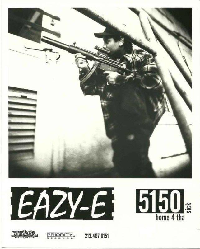 09. Eazy действительно был настоящим гангста