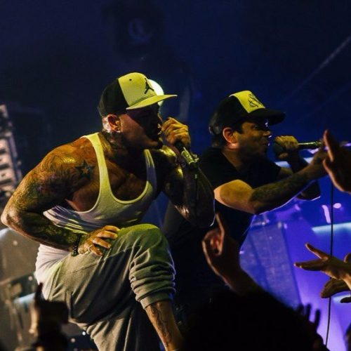 Видеоотчет с концерта группы Crazy Town в Saint P.