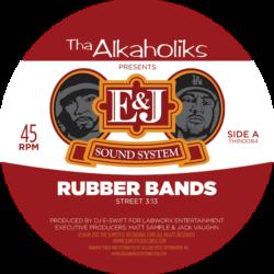 """Tha Alkaholiks выпустили новый стилизованный под пивас сингл """"Rubber Bands"""" на виниле"""