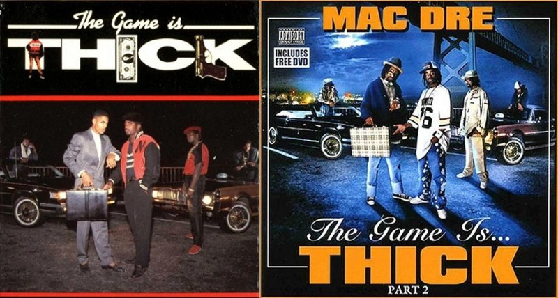 The Mac - The Game Is Thick Cassette (Front)F