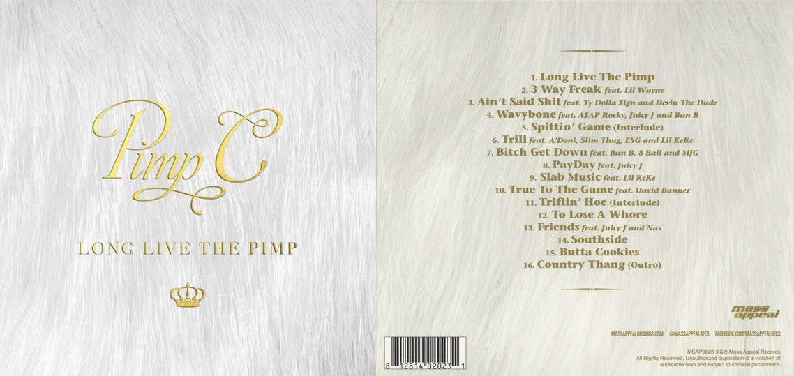 Дата релиза, обложка и треклист посмертного альбома Pimp C «Long Live The Pimp»