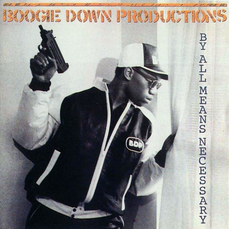 02. Boogie Down Productions - «By All Means Necessary» (1988)