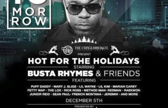 Busta Rhymes устроил концерт с участием Method Man, Puff Daddy, Raekwon, Redman, Naughty, Rick Ross, ATCQ, Junior Reid,…