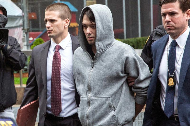 Martin Shkreli был арестован агентами ФБР по обвинению в мошенничестве