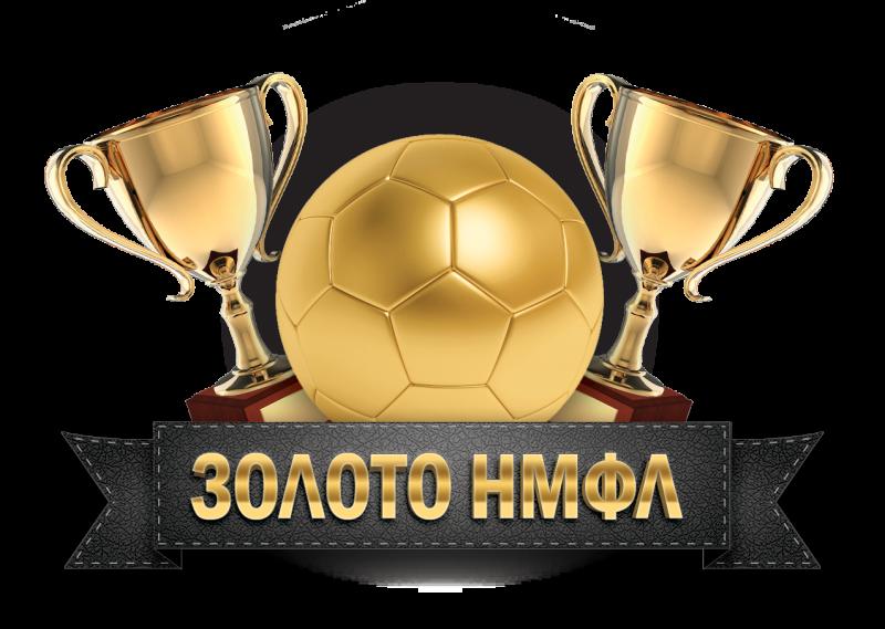 логотип золото нмфл