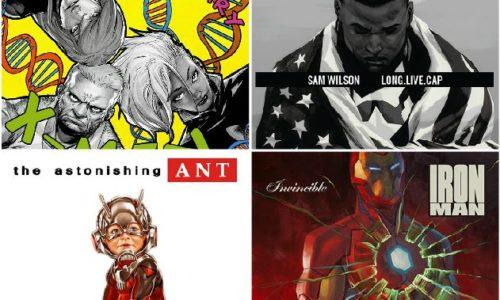 Скоро выйдет книга с обложками хип-хоп альбомов в стиле комиксов от Marvel!