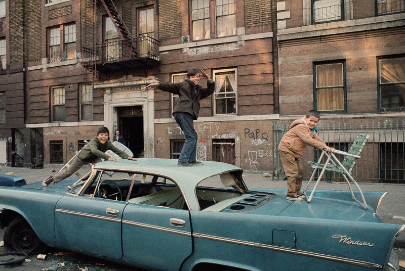 Нью-Йорк 70-х от Camilo José Vergara