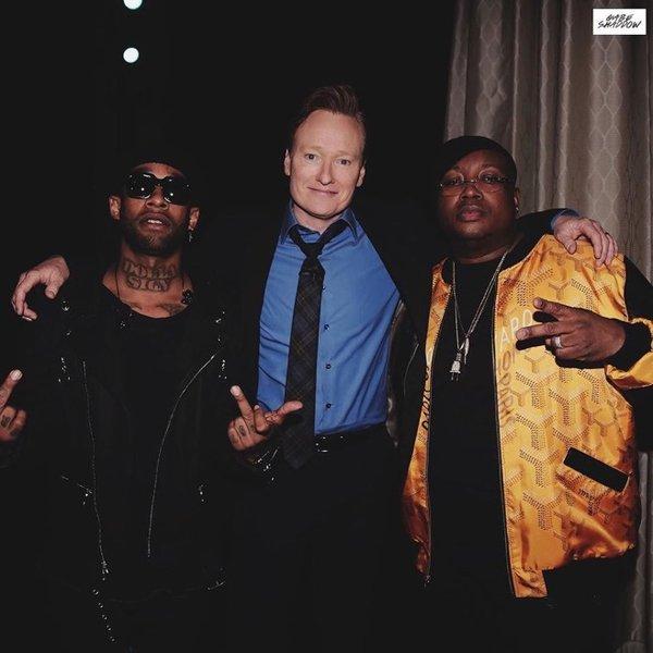 Выступление Ty Dolla $ign и  E-40 на шоу Conan O'Brien'a