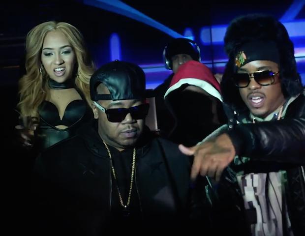 Новое видео от Twista, на трек «Models & Bottles»,  при участии Lil Bibby и Jeremih