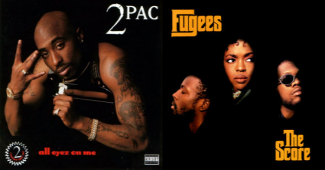 20 лет альбомам 2Pac —«All Eyez on Me» и The Fugees — «The Score»