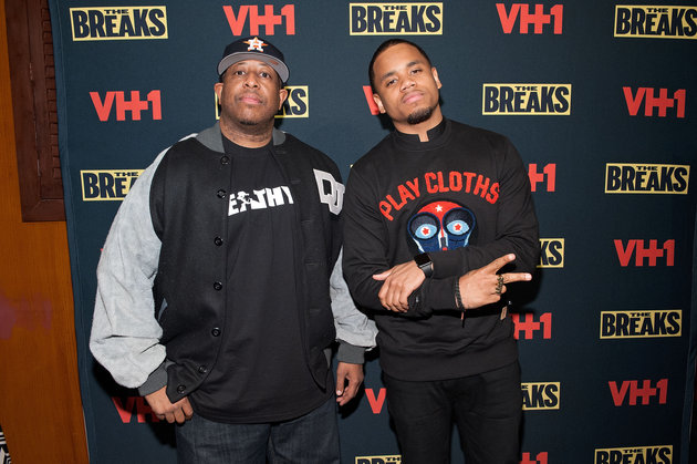 NEW YORK, NY - DECEMBER 14: DJ Premier (L) and Mack Wilds attend the Vh1 The Breaks premiere party at Red Rooster Restaurant on December 14, 2015 in New York City. (Photo by D Dipasupil/Getty Images for Vh1)