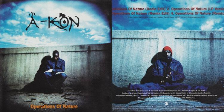 Первый сингл Akon — «Operations of Nature», выпущенный в 1996 году