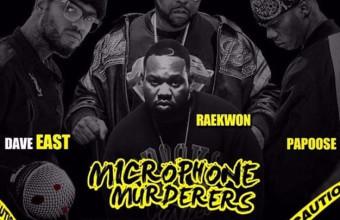 Свежее видео от Dj Kay Slay, Dave East, Papoose и Raekwon  «Microphone Murderers»