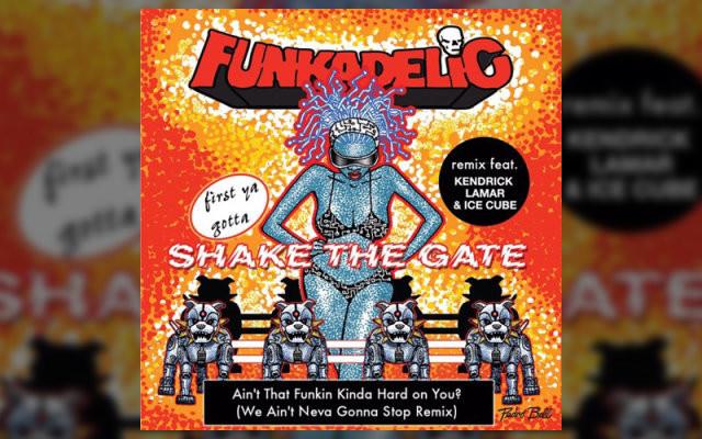 Новое видео от Funkadelic, Kendrick Lamar и Ice Cube — «Ain't That Funkin' Kinda Hard on You?»