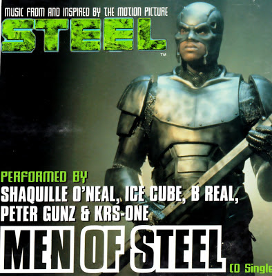 Shaquille O'Neal, Ice Cube, B-Real, Peter Gunz & KRS-One «Men Of Steel» (1997)
