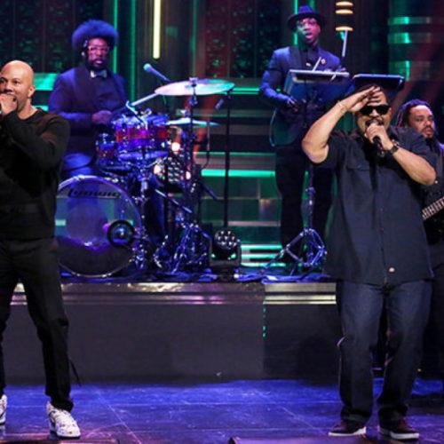 Ice Cube и Common исполнили «Real People» вживую