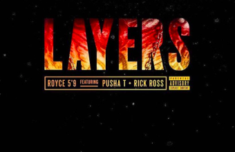 """Royce Da 5'9"""" выпустил новый сингл при участии Pusha T и Rick Ross под названием «Layers»"""