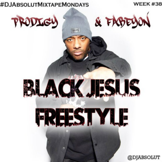 Ранее неизданный фристайл от Prodigy (Mobb Deep) и Fabeyon — «Black Jesus Freestyle»