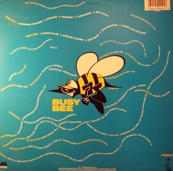 Busy Bee — Live in Atlanta (1988)