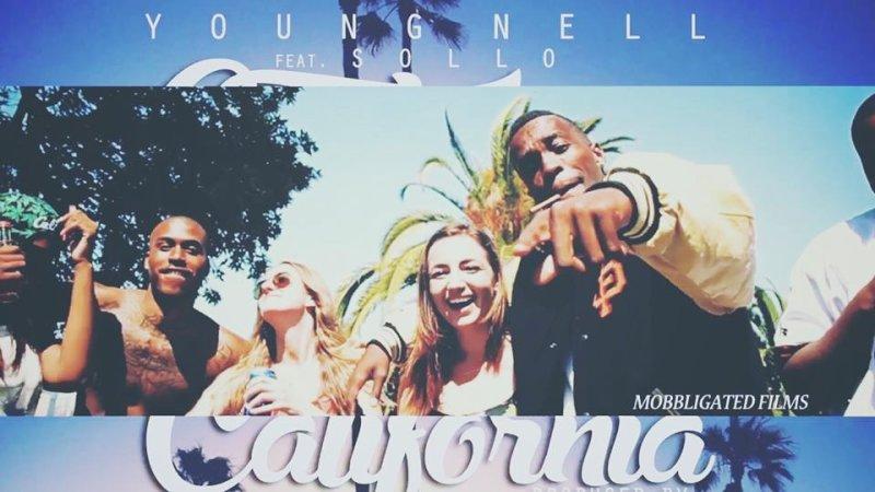 Young Nell и Sollo сняли клип про солнечную Калифорнию