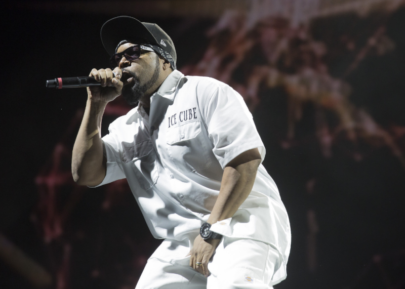 Выступление Ice Cube'а на фестивале Coachella 2016