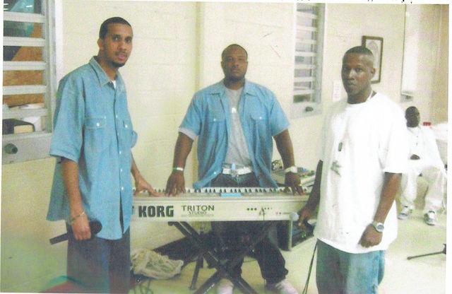 Mac & fellow bandmates circa 2010