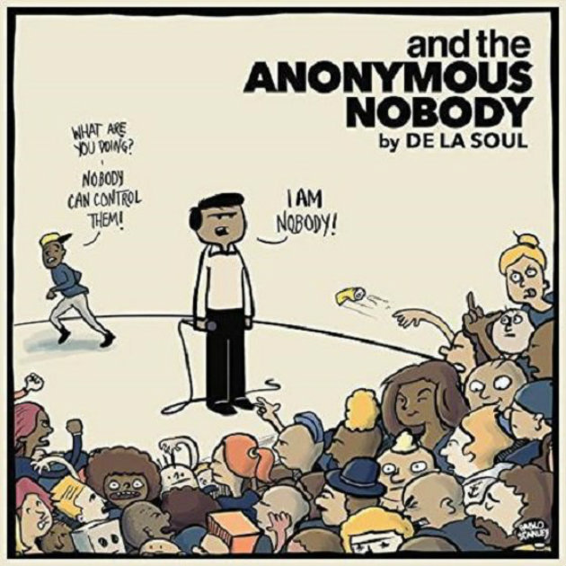 Треклист и обложка нового альбома De La Soul — «and The Anonymous Nobody»
