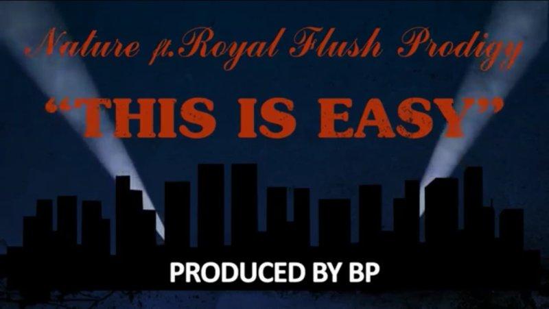 Nature, Royal Flush и Prodigy (Mobb Deep) с текстовым видео «This Is Easy»