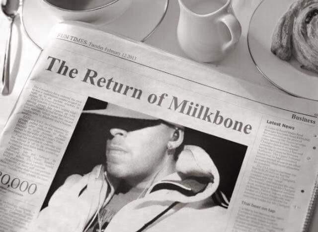 Miilkbone, белый подопечный Naughty by Nature, с новым видео «Ask Flex»