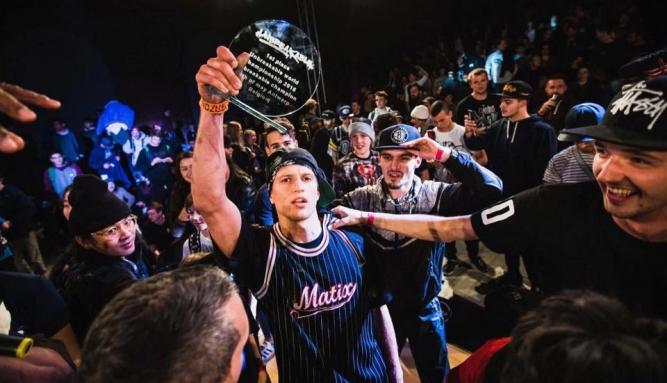 Украинский B-Boy Kuzya победил в Бельгии на UNBREAKABLE 2016