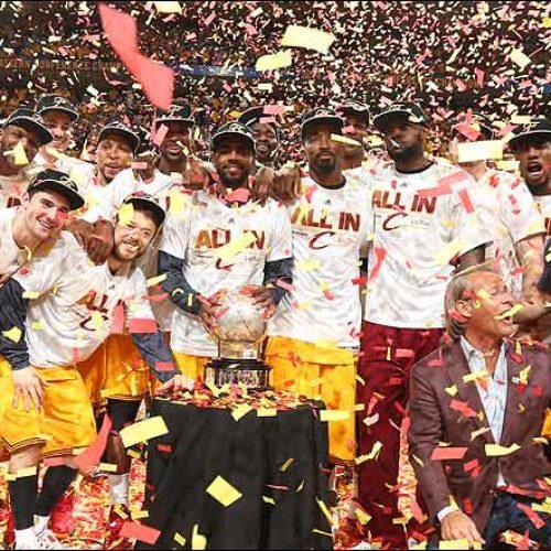 Баскетбол: Мозгов и Каун стали первыми русскими Чемпионами NBA, вместе с Cleveland Cavaliers