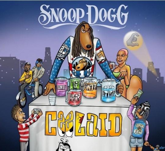 """Snoop Dogg показал обложку и треклист своего нового альбома """"Cool Aid"""""""