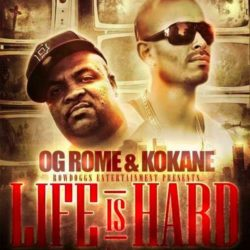 Вышло официальное видео на трэк OG Rome feat. Kokane & 2Pac «Life Is Hard»