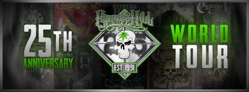 Cypress Hill World Tour 2016