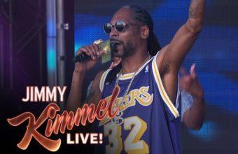 Snoop Dogg выступил под живую музыку с трэком «Fireworks»