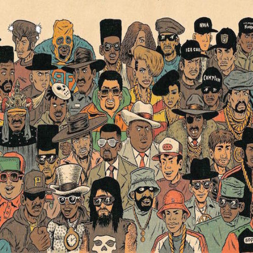 Комиксы Hip Hop Family Tree