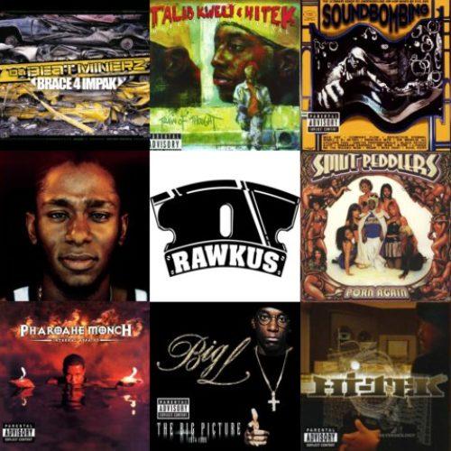Rawkus Records: Здесь издавались лучшие МС и продюсеры.15 важнейших релизов от легендарного лейбла