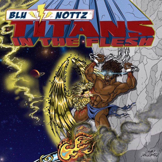 Blu & Nottz — «Titans in the Flesh». Премьера нового EP