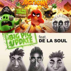 De La Soul выпустили новый трек «Action!», к популярной игре Angry Birds Action