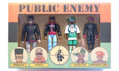 В августе выйдет набор фигурок Public Enemy