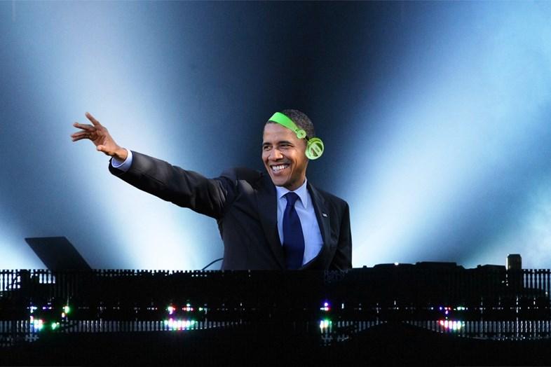 Президент США Барак Обама опубликовал плей-лист с любимыми треками. Есть там и хип-хоп!