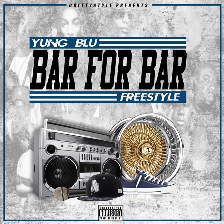 Фристайл от Yung Blu «Bar For Bar»