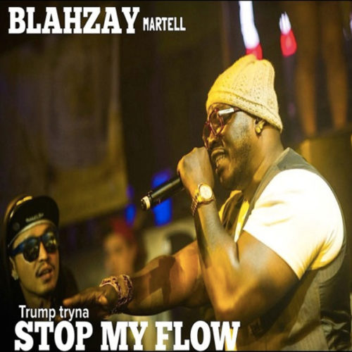 "Blahzay Martell (Blahzay Blahzay) в треке ""Trump Tryna Stop My Flow» прошёлся по Дональду Трампу"